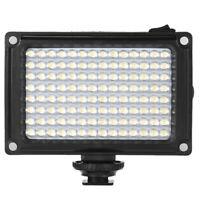 96 LED Video Light Lamp +Filters For Canon Nikon DSLR SLR Camera V9J7