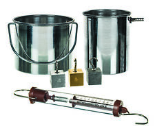 Specific Gravity And Essential Components Kit Includes Newton Scale