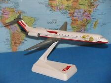 1/200 TWA GLOBE TRANS WORLD AIRLINES MD-80  WINGS OF PRIDE ***RARE & VHTF***