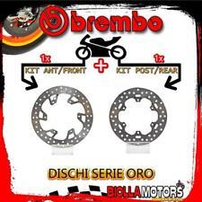 BRDISC-1284 KIT DISCHI FRENO BREMBO KTM GS 1993- 300CC [ANTERIORE+POSTERIORE] [F