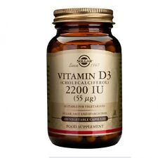 Solgar Vitamin D3 2200 IU (55ug) Vegetable Capsules 100