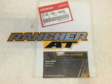 2004 2005 Honda Rancher 400 AT Fender Sticker Emblem Decal Yellow Label GENUINE