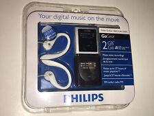 Philips GoGear Digital Audio Player 2 GB MP3 SA1929/37 Voice Recordings FM Radio