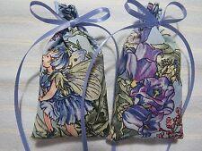 "Blue 4""X2"" Sachet-'Classic Lavender' Fragrance-Flower Fairies-Handmade-050"