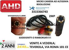 TELECAMERA NASCOSTA OCCULTABILE MICRO SPY AHD 2MP CON VISIONE NOTTURNA(limitata)