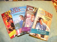 Lot of 4 Romance MEN MADE IN AMERICA Books-Too Near Fire-After the Storm & More
