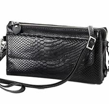 Women Leather Mini Shoulder Bags Crossbody Bags Multilayer Clutches Bags