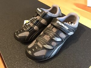 Specialized Cadette Womens Road Cycling Shoe Black/Carbon Size 6.5 (37 EUR) Nice