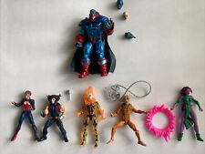 Marvel Legends Age of Apocalypse X-Men action lot Of 6 Wolverine Sunspot Jean