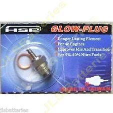 Rc Radio Glow Plug N4 número 4 Nitro Hpi Traxxas Tamiya Kyosho Hsp Mediano