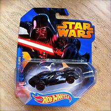 Disney STAR WARS Hot Wheels DARTH VADER #1 diecast Mattel Dark Side Lord INTL