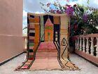"Boujad Moroccan Handmade Vintage Carpet 5'3""x8'5"" Abstract Colorful Berber Rug"