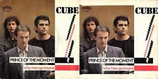 DISCO 45 GIRI     CUBE  - PRINCE OF THE MOMENT // WHY MEN GO INSANE