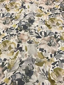 Mirren Furnishing Fabric, Mustard  90% cotton, 10% linen 2900mm