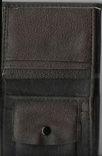 NEW BROWN LEATHER MEN'S WALLET