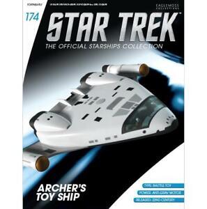 Issue #  174 Archers Toy Ship Eaglemoss Star Trek Starship