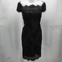 Jenni Button Black Lace Dress 6