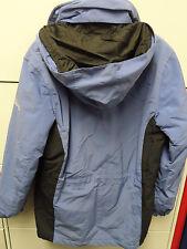 PACIFIC TRAIL Outdoor Jacket Coat Hood Womens Medium Blue Black Zipper Velcro