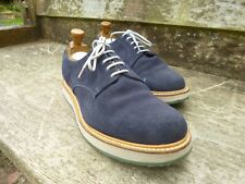 CHURCH DERBY – BLUE SUEDE – UK 8.5 – LEYTON -  EXCELLENT CONDITION
