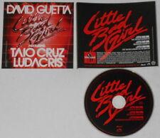 David Guetta Taio Cruz Ludacris  Little Bad Girl  U.S. promo cd  hard-to-find