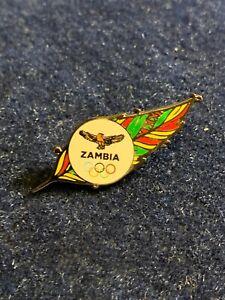 Zambia Tokyo 2020 NOC Pin Badge