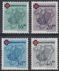 French Zone Rhineland-Palatinate 42/45 A German Red Cross, Mint