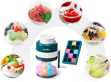 Ice Shaver Machine Snow Cone Maker Shaved Manual Portable Crusher Margaritas New