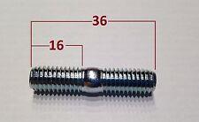 3 Stück Stehbolzen (M8x35) ist M8x36 für Kart Radstern bzw. Felge 8.8 verzinkt