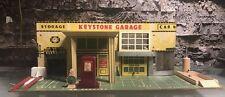 Vintage Keystone Garage Playset