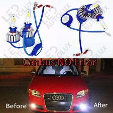 2x H1 30W SMD Fog LEDs Car Bulbs Super Bright CanBus Pure White 6000K