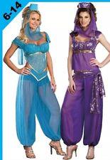 ADULTS JASMINE FANCY DRESS COSTUME OR