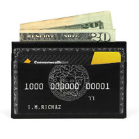 The Black Card Paper Wallet - NEW - The Walart - Mighty Tyvek Dynomighty