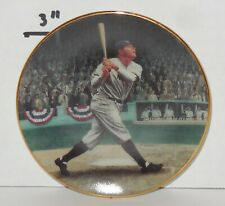 "Vintage Bradford Edition 1995 Legends of Baseball Babe Ruth 3 1/2"" Mini Plate"