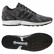 adidas ORIGINALS ZX FLUX TRAINERS BLACK SNEAKERS SHOES MEN S TORSION 3  STRIPES d22f36e34