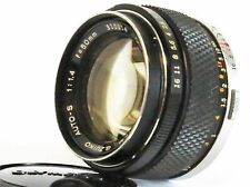 Olympus OM-System G.Zuiko Auto-S 50mm F/1.4 Lens F/Shipping Excellent- NO.310314