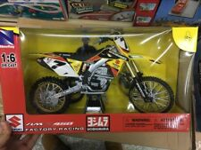 Suzuki Factory Racing Rm-z450 7 James Stewart Dirt Bike Motorcycle Model 1/6