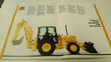 1995 FORD TRACTOR LOADER BACKHOES Sales Brochure