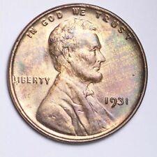 New listing 1931 Lincoln Wheat Small Cent Choice Bu Free Shipping E119 Knn