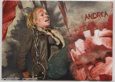 TOPPS THE WALKING DEAD SURVIVAL BOX INSERT CARD WALKER BITE 2 OF 5 ANDREA