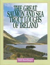 RAWLINGS FISHING BOOK SALMON & SEA TROUT LOUGHS IRELAND hardback BARGAIN new