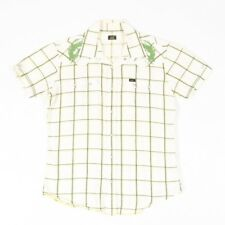 VGC Vintage LEE Pearl Popper Embroidered Dragon Shirt | Western Cowboy Check
