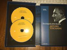 ARTURO TOSCANINI I GRANDI DIRETTORI ENCICLOPEDIA DELLA MUSICA 2 CD il sole24ore