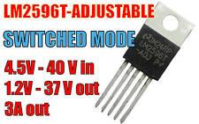 LM2596T Adjustable 3A Switching Switched Regulator 4.5V - 40V in 1.2V - 37V out