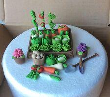 Edible cake toppers Hobby Vegetables Garden Allotment Man Birthday