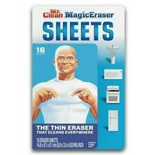 Mr. Clean Magic Eraser Sheets Disposable Thin & Flexible, 16 Count