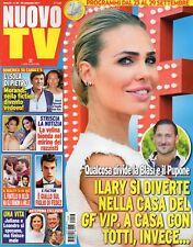 Nuovo Tv 2017 38.Ilary Blasi,Alice Rachele Arlanch,Fedez,Elio Germano,L.Dorigo