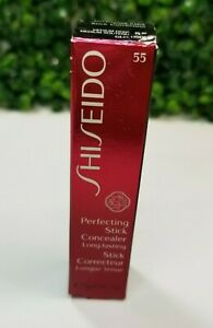 Shiseido Perfecting Stick Concealer  0.17oz - Medium Deep 55 - NEW