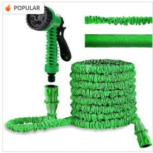 Garden Hose Expandable With Spray Gun And Hosepipe, Flexible And Lightweight