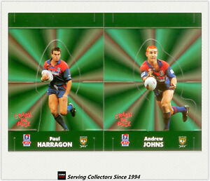 1997 Dynamic Rugby League POP-UP CARDS Team Sets-NEWCASTLE KNIGHTS(2)