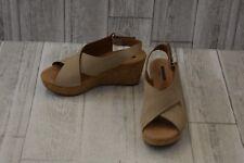 131220b00c51 Clarks Annadel Eirwyn Wedge Sandals-Women s size 6 M Sand